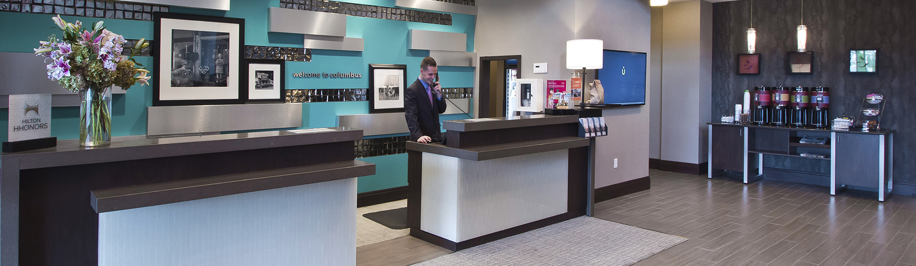 The Newly Developed Hampton Inn Suites Located In The Osu Area